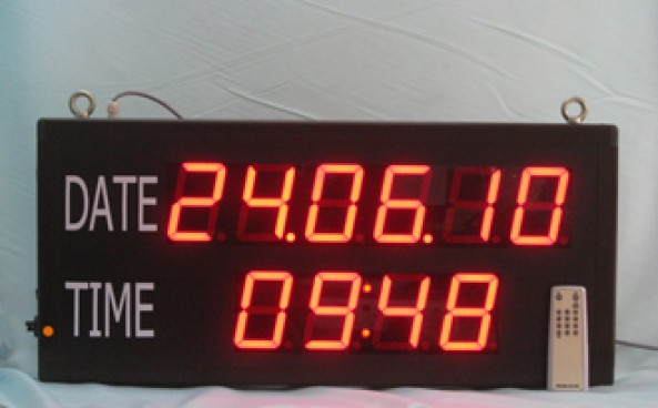 LP Date And Time Display