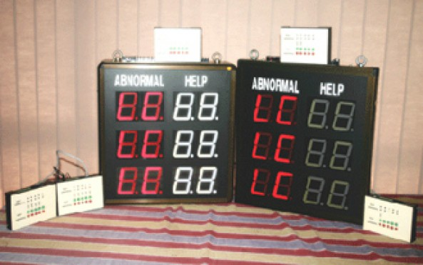 LP Material Handling Display System