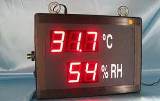 Room Temperature & Humidity Display